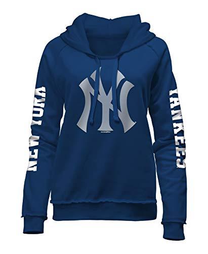 - New Era New York Yankees Women's MLB Home Run Pullover Hooded Sweatshirt