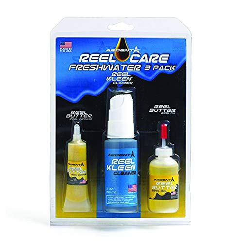 - 554893 Ardent Reel Care 3 Step Pack Freshwater