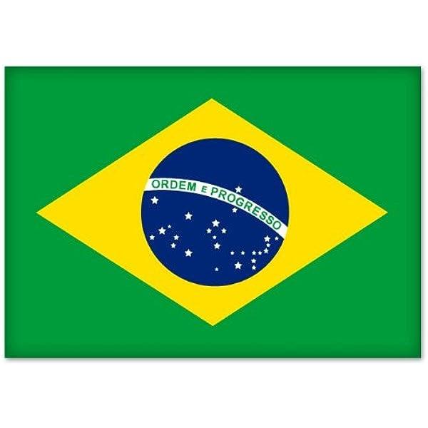 Brazil Brasil Country State Outline Vinyl Decal Sticker