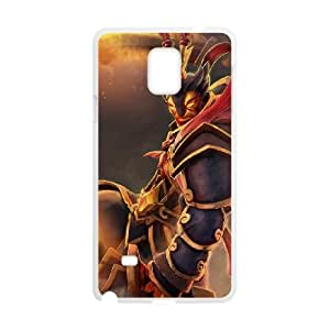 Samsung Galaxy Note 4 Cell Phone Case White Defense Of The Ancients Dota 2 EMBER SPIRIT 005 LWY3516800KSL