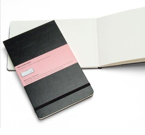 Watercolor Album Notebook MOLESKINE artist Book large by Moleskine
