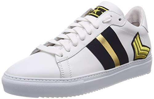 free shipping big sale sale limited edition Stokton Women's Low-Top Sneakers Multicolor (White/Navy/Gold) lowest price cheap online PySWA8E