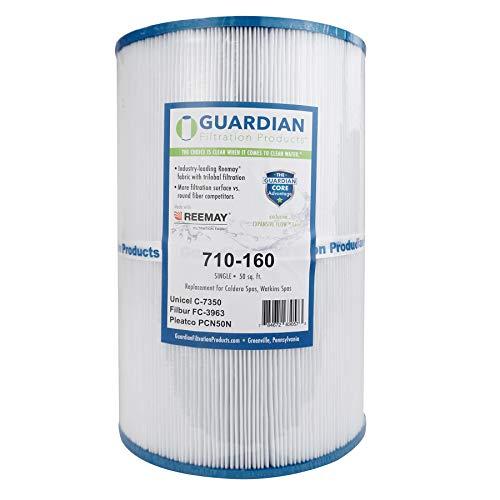 Guardian Pool Spa Filter Replaces Caldera Spa 50 2003- C-7350,FC-3963 Unicel C7350, Pleatco Pcn50N, Watkins