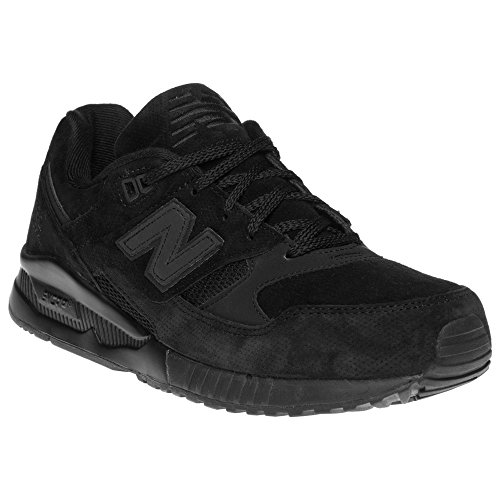New Balance 530 Men's Running Classics Sneakers Shoes M530AK Black NIB Authentic (New Mens Authentic Suede Sneaker)