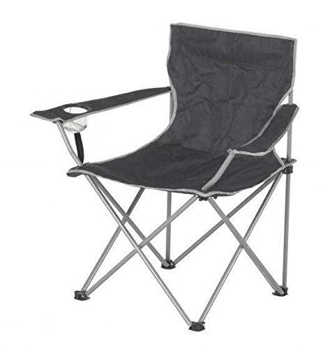 Lifetime Garden inklapbare campingstoel 80 cm grijs