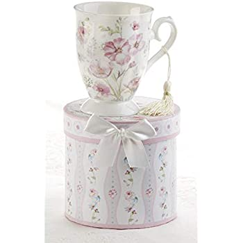 Delton Products Pheasant Porcelain Mug-Coaster-Spoon Set Novelty 8133-5