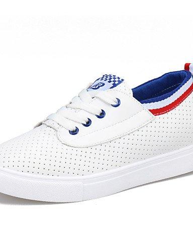 tac¨®n Green Azul La sneakers comfort Cn38 Blue Mujer Zq A 5 Cn39 5 Uk5 us7 semicuero Casual Moda Eu38 exterior Uk6 Eu39 Plano negro us8 Zapatos Yyz De xqq0IZ1