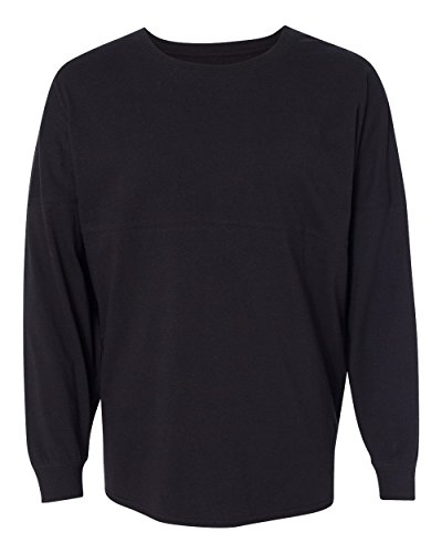 Ladies Game Day Jersey Long Sleeve T-Shirt - Black