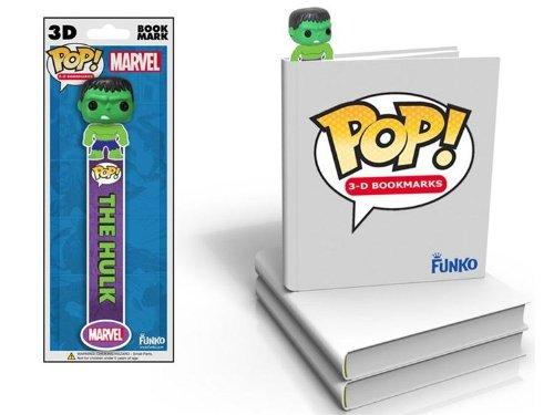 Funko Marvel Hulk 3D Bookmark product image