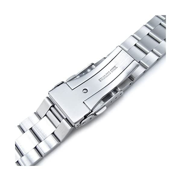 21mm-SOLID-316L-Stainless-Steel-Super-Oyster-Straight-End-Watch-Band