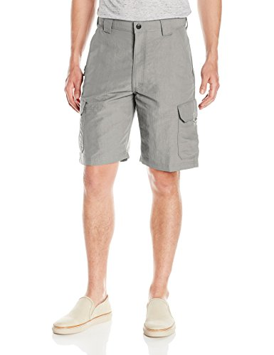 - Wrangler Men's Authentics Outdoor Nylon Cargo Short, Grey Mist, 36