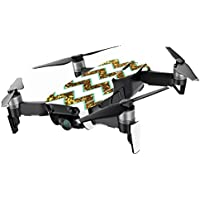 MightySkins Skin for DJI Mavic Air Drone - Glitzy Chevron | Min Coverage Protective, Durable, and Unique Vinyl Decal wrap cover | Easy To Apply, Remove, and Change Styles | Made in the USA