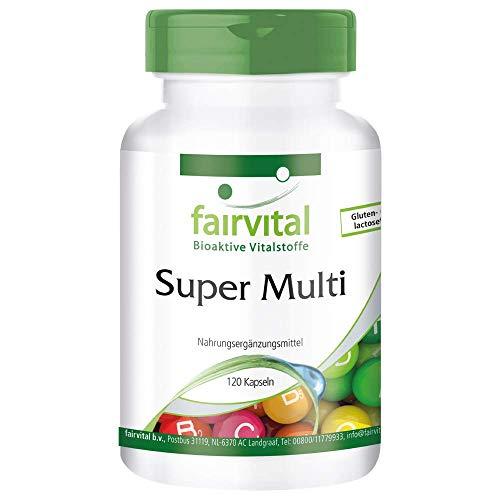 슈퍼 멀티-멀티 비타민과 미네랄 라이너스 폴링 생리 후 2 달 공급 120 채식 캡슐