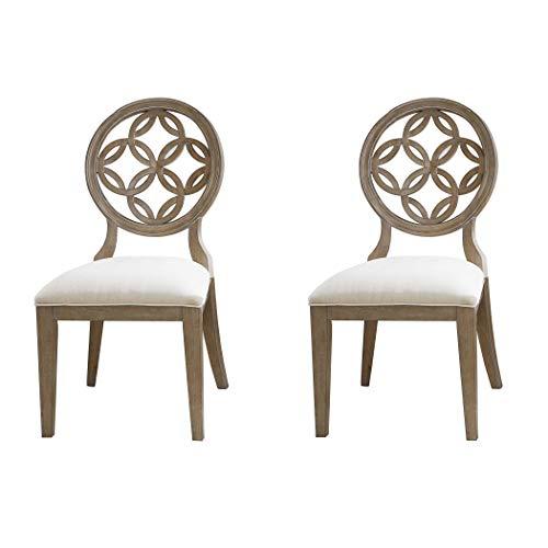 Hillsdale Furniture 5851-804 Savona Dining Chair, Set of 2, Vintage Gray