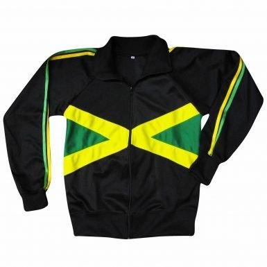 ジャマイカ国旗Zippedレジャートップ B074N4F4R92XL (DOUBLE XXL)