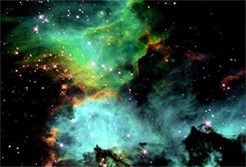 Ngc Light - Black Light Reactive Star Cluster NGC 2074 in the Large Magellanic Cloud Hi Gloss Space Poster Fine Art Print