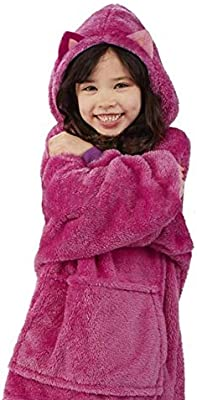 Pijama con capucha de franela para niños, disfraz de cosplay para ...