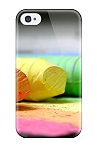 Awesome Color Flip Case With Fashion Design For Iphone 4/4s