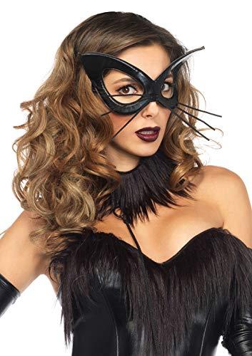 Leg Avenue Women's Oversized Bunny Mask, Black, O/S