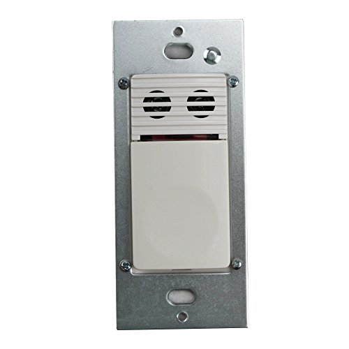 Cooper Controls OSW-U-0721-MV-W Greengate 120-277-Volt Ultrasonic Wall Switch with Neutral Wire, White Finish (Utility Magnetic Ballast)