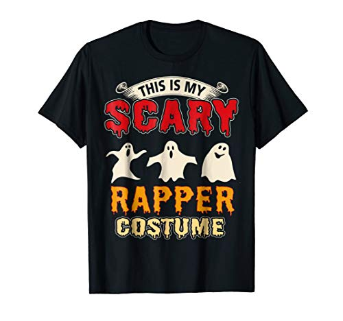 This Is My Scary Rapper Costume Halloween T-Shirt -