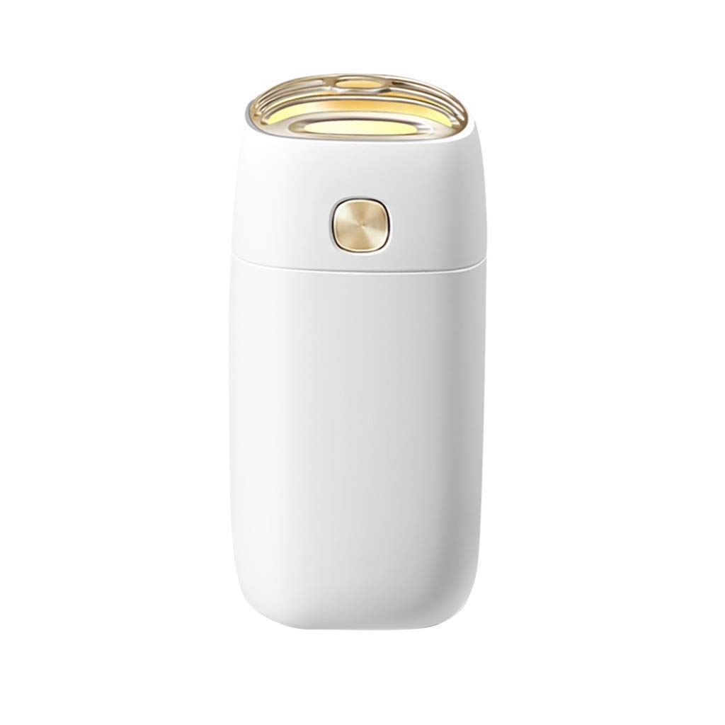 LC_Kwn USB Personal Small Humidifier Humidifiers for Bedroom Home Baby, Cool Mist (Color : White)