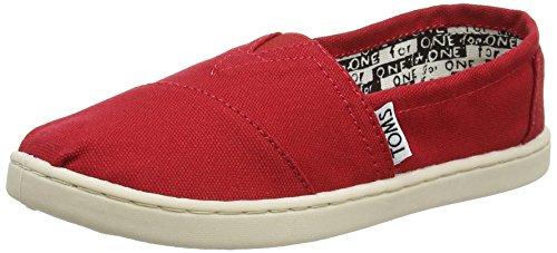 TOMS Kids Classics , Red, 4 M