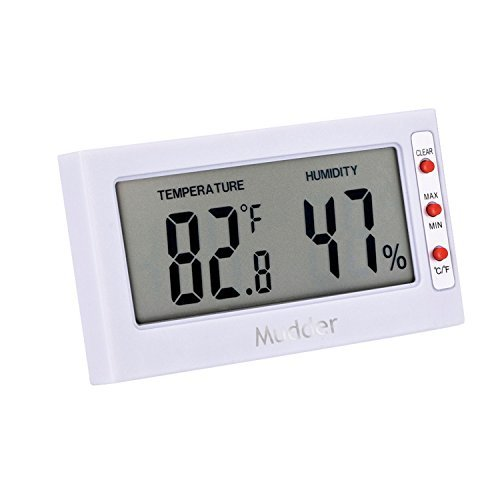 Mudder Thermometer Hygrometer Temperature Humidity