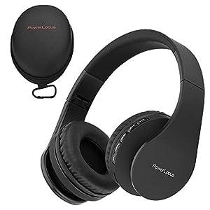 Power Locus Wireless Bluetooth Over-Ear Stereo Foldable Headphones