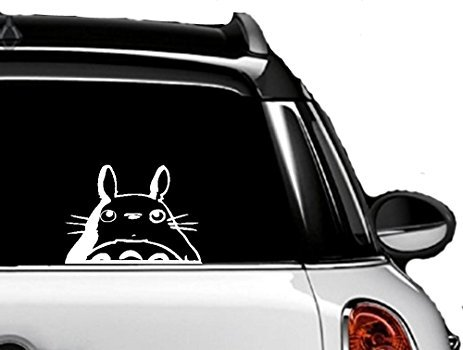 """Totoro Head 5.7"""" Sticker - Cute and Funny Totoro Decal for"""
