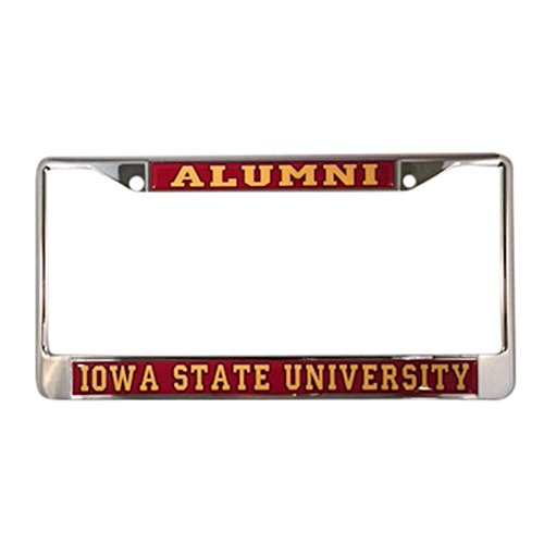 - Iowa State University Cyclones Alumni License Plate Frame