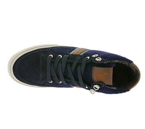 U.S. POLO ASSN. Martin Men's Trainers Blue COMET4182W5 / SW1, Size:41
