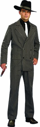 Rubie's Costume Masquerade Concepts Adult Gangster Suit Costume, Black, X-Large