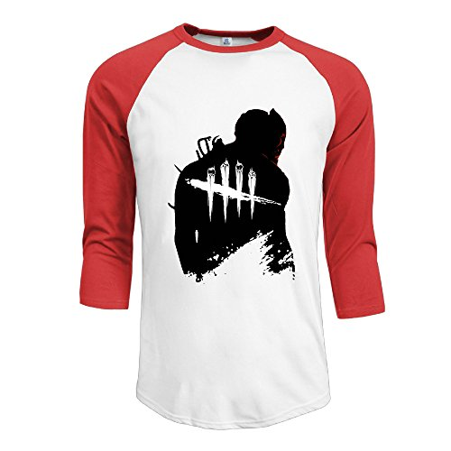 ^GinaR^ Men Middle Sleeve Dead By Daylight Comfortable Shoulder M
