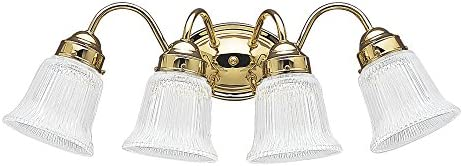 Effimero Wall Sconce Satin Brass Vanity Light Fixture LL-WL31-SB