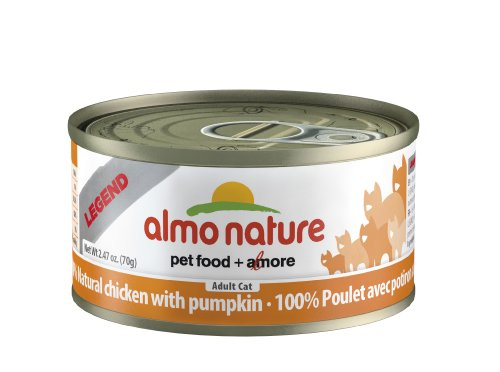 Almo Nature Chicken with Pumpkin Food , 2.47 oz.