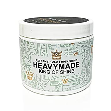 Hanz de Fuko Heavymade- Men s Hair Styling Gel Pomade with High Shine Finish 4 oz