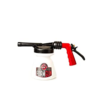 Adam's New Standard Foam Gun - Produces Thick, Sudsy Foam Car Washing - Use Regular Garden Hose - Fun, Efficient Way to Foam Down Your Vehicle