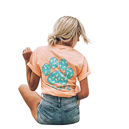 PAWZ Peach Pineapple Tee (Every Purchase Helps Save Homeless Dogs)
