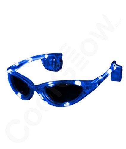 Fun Central AI785 EL Sunglasses- Blue