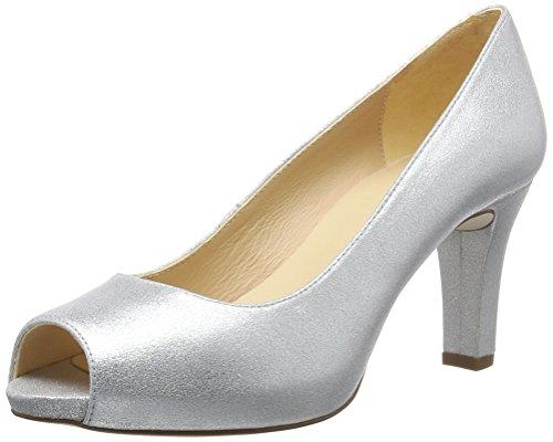 Unisa WoMen Nazo_17_MTS Open-Toe Heels Silver (Silver)