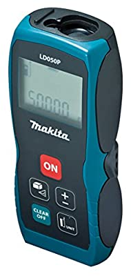 Makita LD050P Laser Distance Measure, 164' by Makita