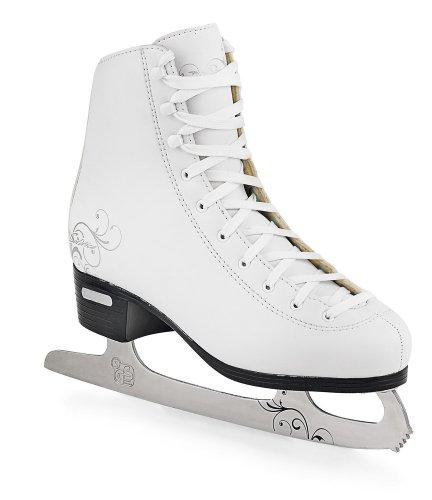 Bladerunner Solstice Women's Ice Figure Skate (White, US 9)