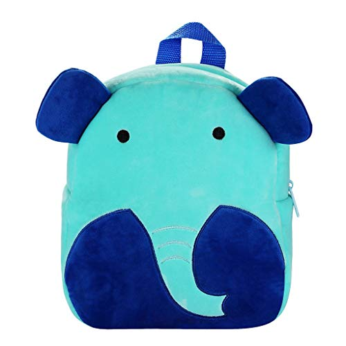 Willow S 2019 Trend Children Boys and Girls Cartoon Cute Animal Printted 3D Stereo Backpack Travel Larger Capavity Totes ()