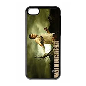 Unique Design Cases Fwmew iPhone 5C Cell Phone Case Daryl Dixon in The Walking Dead Printed Cover Protector