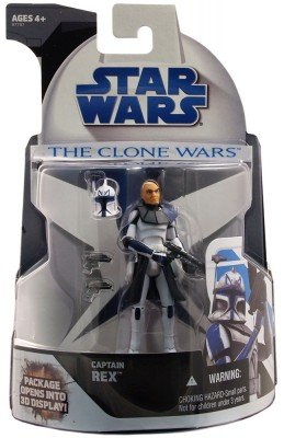 Star Wars The Clone Wars - Captain Rex Mail-in Figure -
