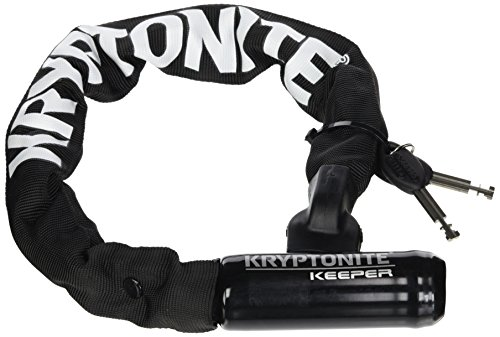 Kryptonite Keeper 755 Mini Integrated Bicycle Lock Chain Bik