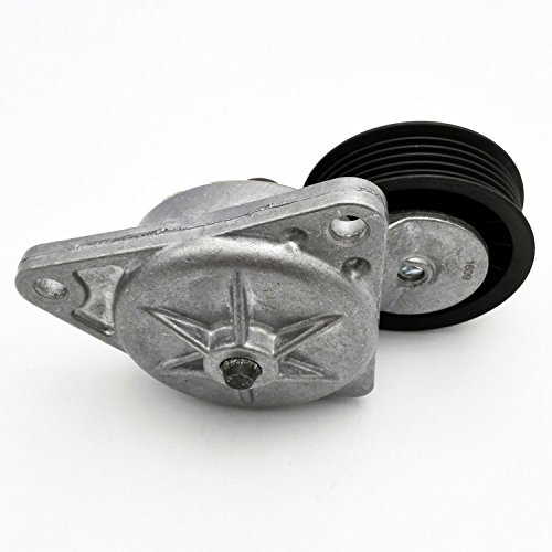 JSD YS4Z6A228AA Serpentine Belt Tensioner with Pulley for Ford Mazda Mercury 2.0L