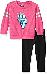 Girls Terry Top and Legging Set