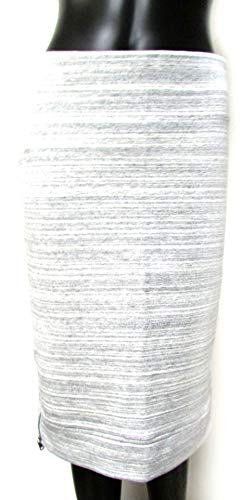 Ann Taylor LOFT Heathered Pencil Skirt Grey Size Small